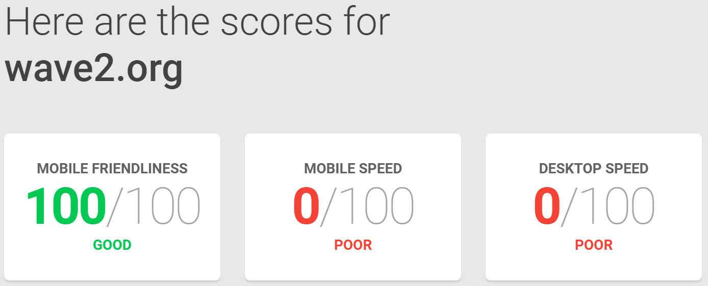 """Google Page Speed Test"""